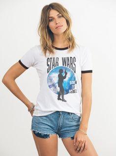 Women's Junk Food Clothing x Star Wars Rogue One Jyn Erso t-shirt