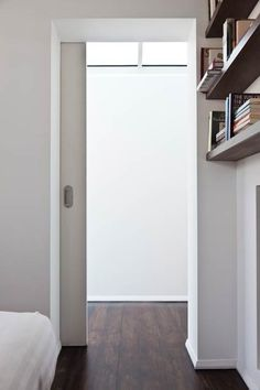 Small space sliding doors solutions & Imperial White Single Pocket Door | Sliding door systems Sliding ...