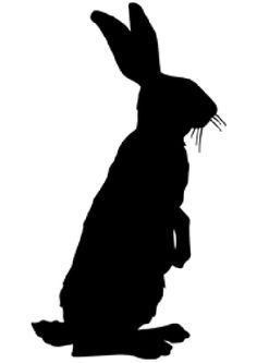 Look at our gorgeous inspiration for our Easter 2014 bootcamp. Rabbit Silhouette, Silhouette Images, Animal Silhouette, Running Silhouette, Silhouette Painting, Rabbit Art, Bunny Rabbit, Bunny Art, Halloween Pictures