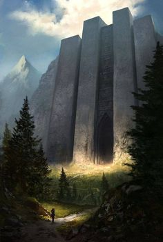 The secret door of Gondolin