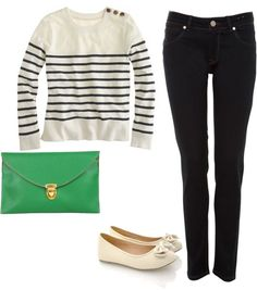 """Causal Day"" by allie-martinville on Polyvore"