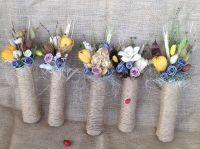 Decoratiuni florale - EcoVintage by Aura Burlap, Reusable Tote Bags, Google, Hessian Fabric, Jute, Canvas