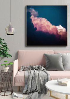 """""""Intrépide No. 4"""" Cloud Painting"""