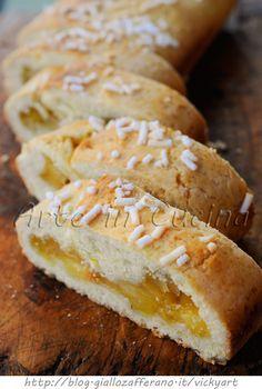 Bensone modenese mele e marmellata ricetta dolce veloce vickyart arte in cucina