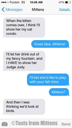 NEW Daily Mittens: The Planning Edition More Mittens: http://textsfrommittens.com/  Order the Mittens book: http://www.amazon.com/Texts-From-Mittens-Unlimited-Afraid/dp/0373893221