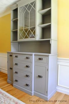 Annie Sloan French Linen Hutch