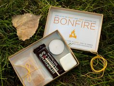 bonfire party DIY smores kit.