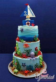 Under the Sea Themed Tutorial Fondant Sea Horse Bake Happy