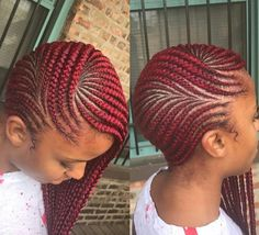 30 Lemonade Braids And Fulani Braids Hairstyles Related posts: 2 Braids French braids cornrows Feedins extensions boxer braids 50 Amazing Cornrow Braid Hairstyle For Round Face; Collection of Big Cornrows Hairstyles very short haircuts Cornrows Braids Box Braids Hairstyles, Lemonade Braids Hairstyles, My Hairstyle, Girl Hairstyles, Hairstyles 2018, Black Hairstyles, Corn Row Hairstyles, Fashion Hairstyles, Hairstyles Videos