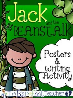 Jack and the Beanstalk Posters (11 Total)  Writing Activity $