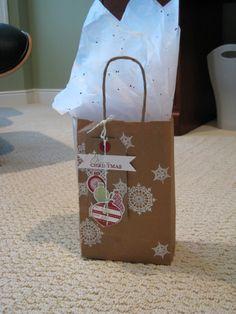 gift bag and tag