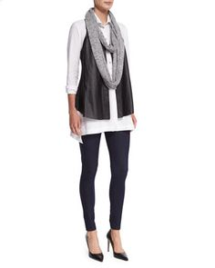 Maidenfair+Mesh+Embroidered+Tunic+&+Thin-Strap+Cotton+Tank+by+XCVI+at+Neiman+Marcus.