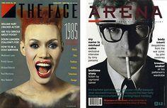 Neville-Brody-Work-Face-Magazine Graphic Design Books, Graphic Design Studios, Graphic Designers, Neville Brody, The Face Magazine, Font Shop, British, Brand Strategist, The Blitz