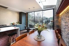 Dalmeny Rd - Contemporary - Kitchen - London - by Martins Camisuli Architects Architects, Conference Room, London, Contemporary, Kitchen, Table, Furniture, Home Decor, Cooking