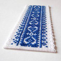 Na ľudovú nôtu - záložka modrá
