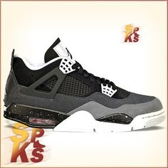the latest afbfa 05c46 Air Jordan 4 (IV) Retro Fear Pack IV Black   White-Cool Grey-Pure Platinum  626969-030
