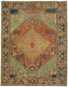 SERAPI, Northwest Persian  9ft 8in x 12ft 8in 3rd Quarter, 19th Century