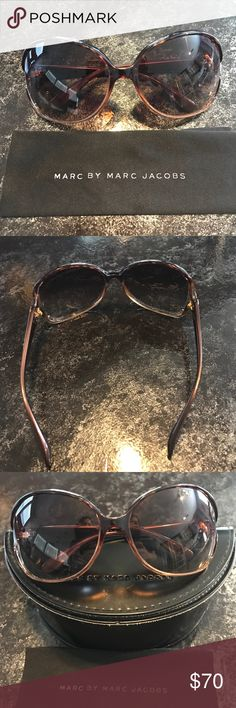 Marc Jacobs sunglasses Marc by Marc jacobs sunglasses.  Used but still in good condition! Marc by Marc Jacobs Accessories Sunglasses