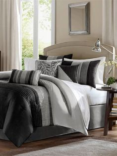 Amherst Contemporary Bedding Collection