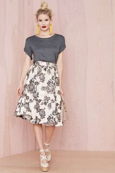 Heavy Petal Skirt   Shop What's New at Nasty Gal