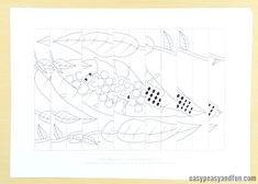 Ladybug Life Cycle Agamograph Template - Easy Peasy and Fun Insect Crafts, Paper Mobile, Diy And Crafts, Paper Crafts, 2nd Grade Art, Beautiful Bugs, Life Cycles, Easy Peasy, Line Drawing