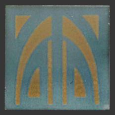 Ernst Teichert - Art Nouveau Tile