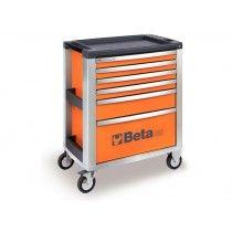 Beta Tools C39 Series 6 Drawer Mobile Roller Cabinet Tool Box