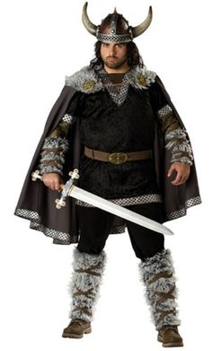 [Mens Halloween Costumes] InCharacter Costumes Men's Plus Size Viking Warrior Costume, Black/Gold, XXX-Large ** Visit the image link more details. Plus Size Adult Halloween Costumes, Plus Size Costume, Halloween Fancy Dress, Adult Costumes, Halloween Ideas, Viking Halloween Costume, Knight Halloween, Hallowen Party, Halloween Carnival