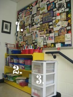 art room free time space - some neat ideas for arranging an art classroom (could use a few for my own classroom!)