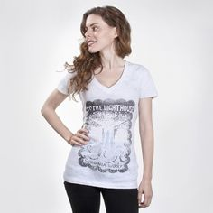 To the Lighthouse book cover women's t-shirt | Outofprintclothing.com