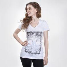 To the Lighthouse book cover women's t-shirt | Outofprintclothing.com