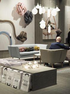 Love this cushions (Stockholm Furniture Fair 2016).