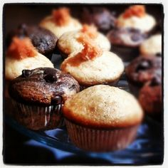 Carrot & Choc chip chocolate/vanilla cup cake ! by souci74