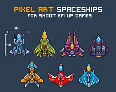 Spaceship Art, Spaceship Design, Star Citizen, Game Design, Cool Pixel Art, Space Fighter, Pixel Animation, Space Games, Pixel Art Games