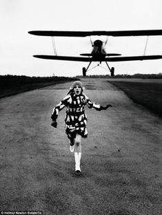by Helmut Newton in British Vogue, 1967
