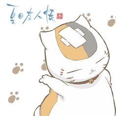 Ooooh! Sassy Nyanko Sensei! Tags: Anime, Fanart, Natsume Yuujinchou, Pixiv, Nyanko-sensei
