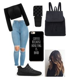 """""""Untitled #5"""" by babytay01 ❤ liked on Polyvore featuring adidas and Gucci"""