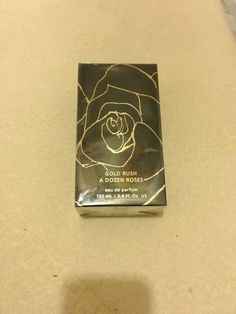 GOLD RUSH A DOZEN ROSES PERFUME EDP - 3.4 OZ - NEW & SEALED IN BOX #360degrees