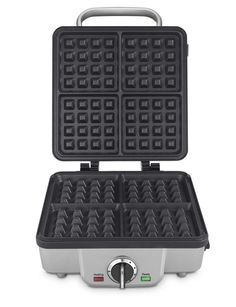 Amazon.com: Cuisinart WAF-300 Belgian Waffle Maker with Pancake Plates, Silver: Electric Waffle Irons: Kitchen & Dining
