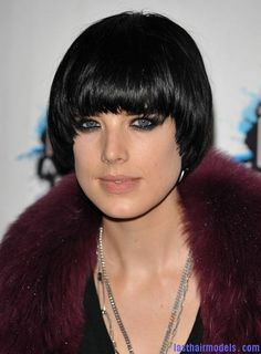 Agyness  Deyn 's Bowl cut hairstyle: Ultra chic chick!