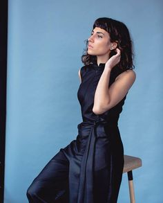 Party Outfits, Feeling Special, Simple Lines, How Are You Feeling, Jumpsuit, Navy, Elegant, Black, Overalls