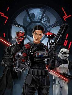 Iden Versio - Ea Star wars Battlefront 2 The Inferno Squad . Star Wars Film, Star Wars Rebels, Star Wars Rpg, Star Wars Fan Art, Star Wars Poster, Images Star Wars, Star Wars Pictures, Geeks, Comic Manga