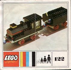 Thousands of complete step-by-step printable LEGO® instructions for free. Here you can find step by step instructions for most LEGO® sets. Old Lego Sets, Vintage Lego, Vintage Stuff, Lego Boxes, Lego Building, Building Ideas, Free Lego, Lego System, Lego Trains