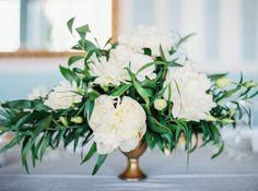 Floral Design: Soiree Floral - http://www.stylemepretty.com/portfolio/soiree-floral Photography: Lacie Hansen - laciehansen.com   Read More on SMP: http://www.stylemepretty.com/2016/05/19/classic-nautical-nantucket-wedding/