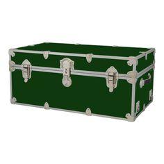 New Rhino Storage Trunk Footlocker 32x18x14for Camp, College U0026 Dorm. USA  Made #Rhino