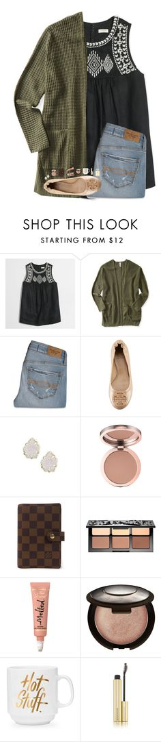 """""""_you're so pretty, you should be on a Christmas card_"""" by hgw8503 ❤ liked on Polyvore featuring J.Crew, Aéropostale, Abercrombie & Fitch, Tory Burch, Kendra Scott, Louis Vuitton, Sephora Collection, Becca, Kevyn Aucoin and Chanel"""