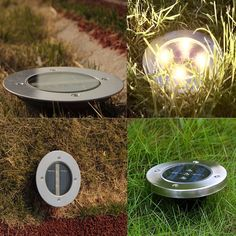 Inspire Uplift Lights LED Solar Powered In-Ground Lights Backyard Walkway, Led Light Fixtures, Solar Power, Solar Energy, Renewable Energy, Solar House, Traditional Landscape, Light Of Life, Landscape Lighting