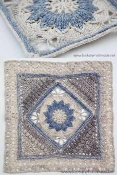 [Free Crochet Pattern] Beautiful And Delicate 17″ Square With A Vintage Feel Attached