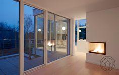Transformering af hus til moderne villa, Facade Bungalow, Facade, Divider, Architecture, Kitchen, Room, Inspiration, Furniture, Design