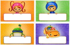Cute and fun Umizoomi place cards for your Umizoomi themed party printable here http://www.nickjr.com/printables/umizoomi-place-cards.jhtml